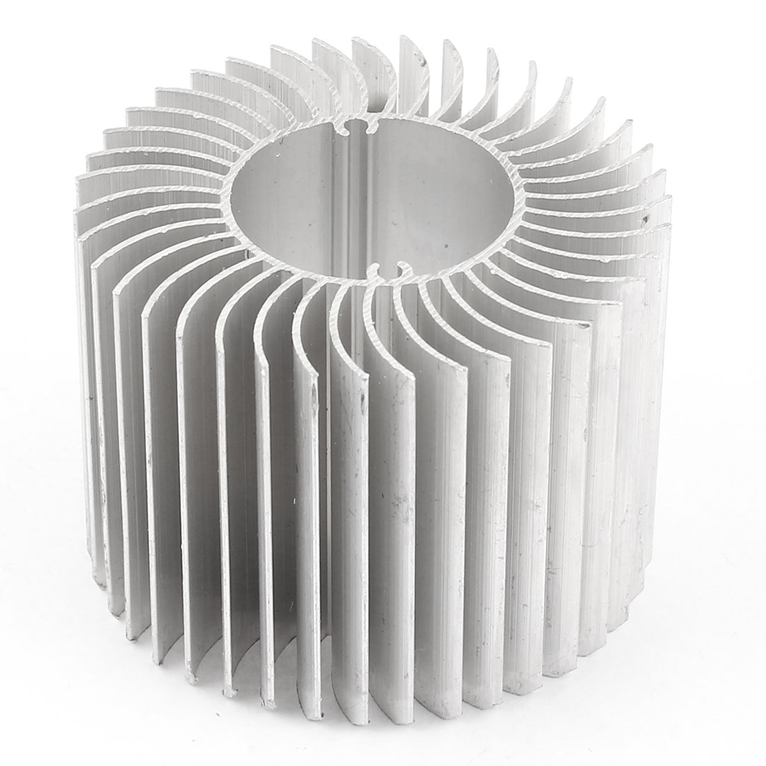 60mm x 45mm Cylinder 4W High Power LED Heatsink Aluminium Cooling Fin