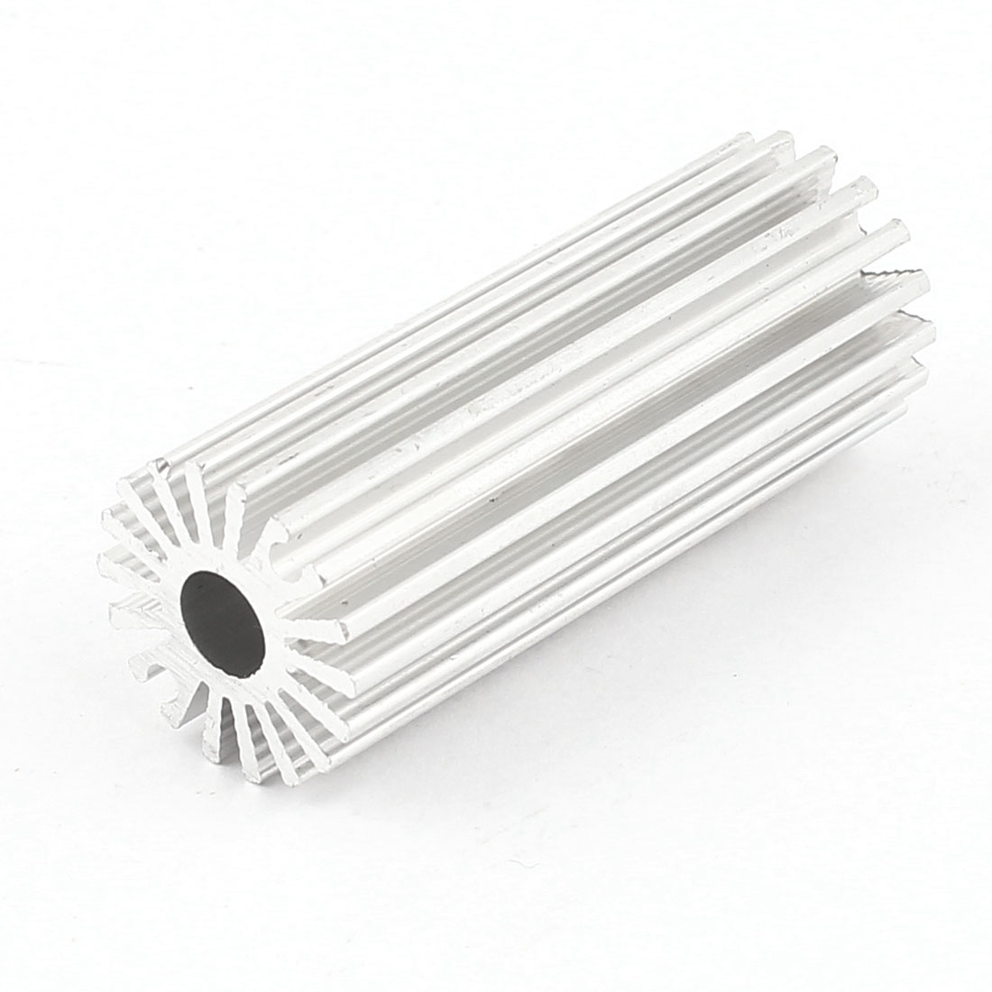 20mm x 50mm Cylinder 1W High Power LED Heatsink Aluminium Cooling Fin