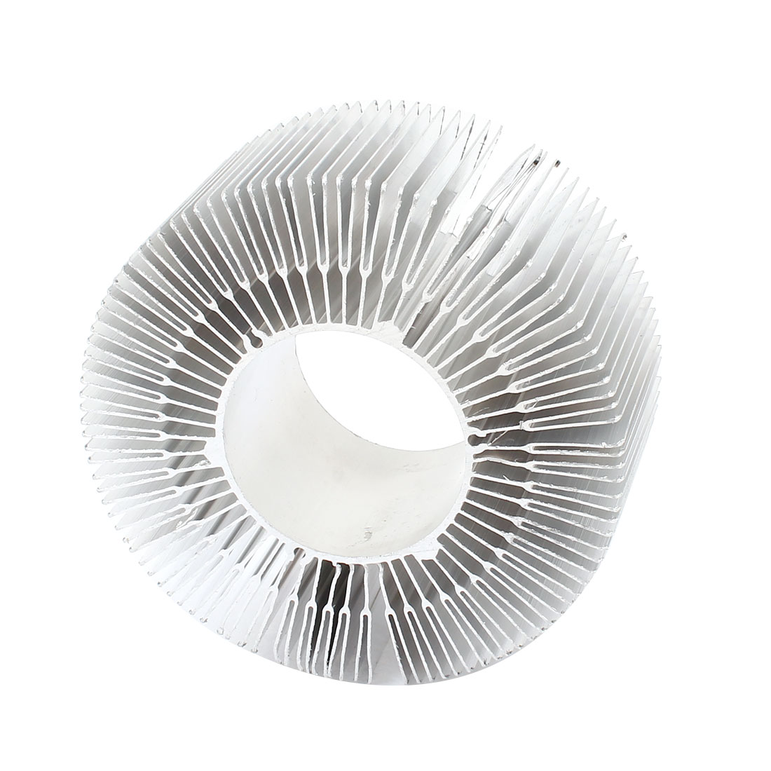 115mm x 50mm Cylinder 30W High Power LED Heatsink Aluminium Cooling Fin