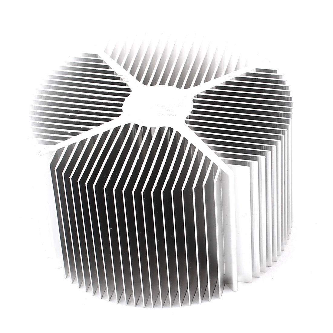 90mm x 50mm Cylinder 10W-20W High Power LED Heatsink Aluminium Cooling Fin