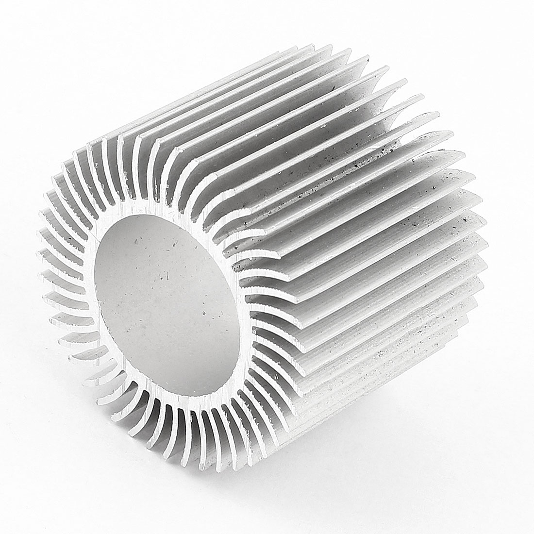 50mm x 40mm Cylinder 3W High Power LED Heatsink Aluminium Cooling Fin