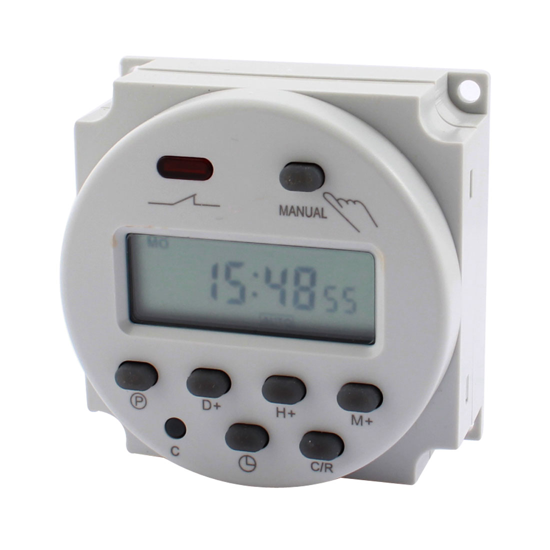 Mini CN101A AC 110V LCD Digit Display Programmable Countdown Timer Control Time Switch