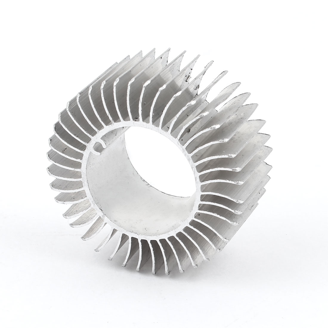 50mm x 23mm Cylinder 3W High Power LED Heatsink Aluminium Cooling Fin