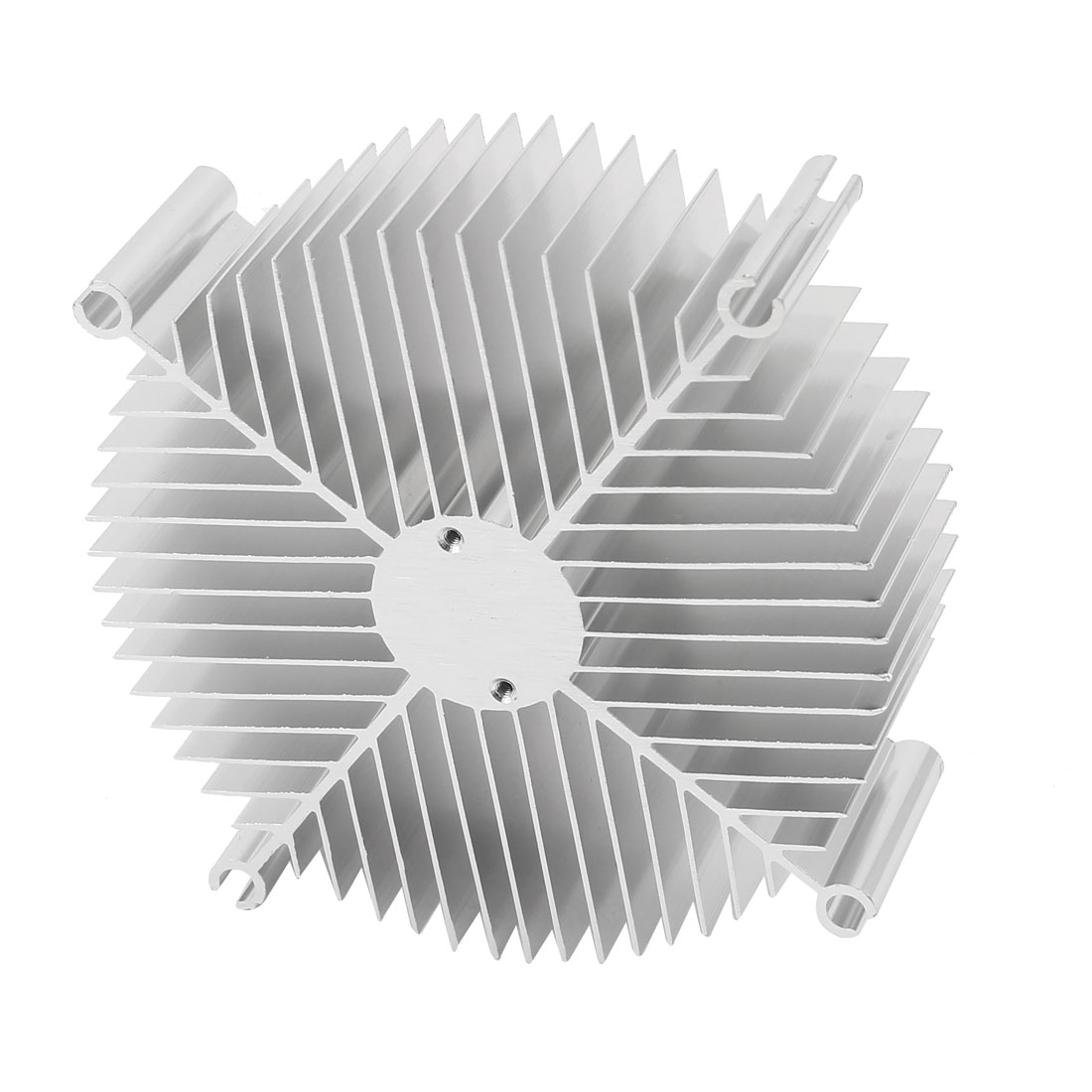 108mm x 30mm Cylinder 10W High Power LED Heatsink Aluminium Cooling Fin