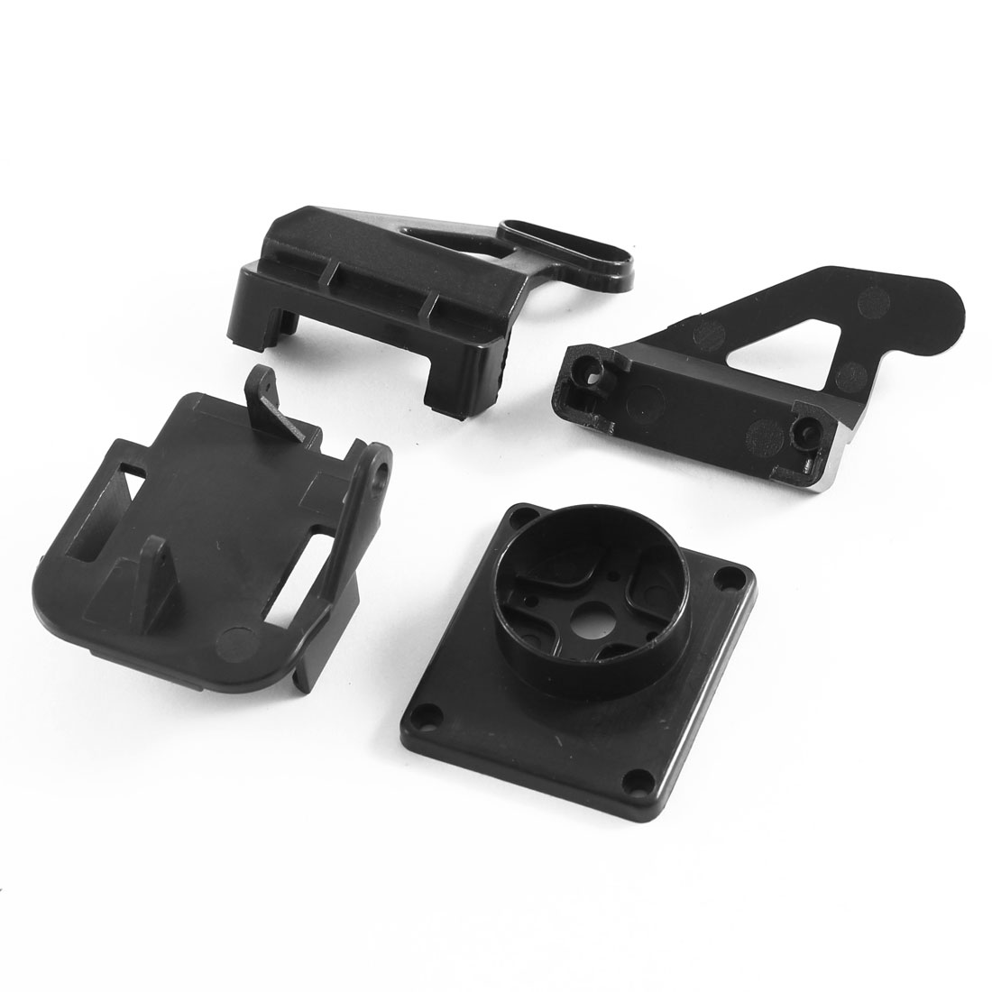 Carbon Fiber FPV Monitor Holder LCD Display Mounting Bracket for Transmitter