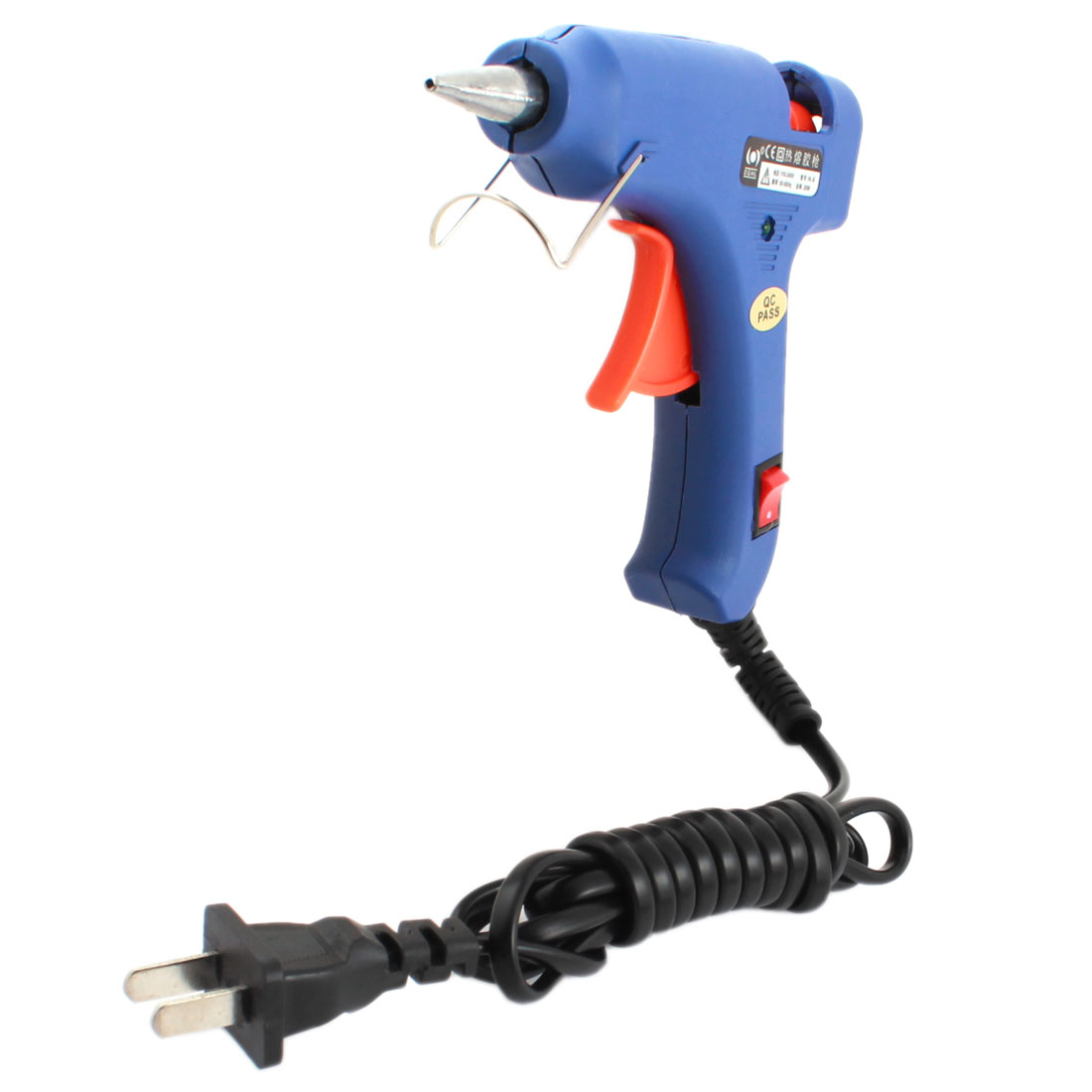 AC 110-240V US Plug 20W Hot Melt Glue Gun HL-E w On/off Control Switch