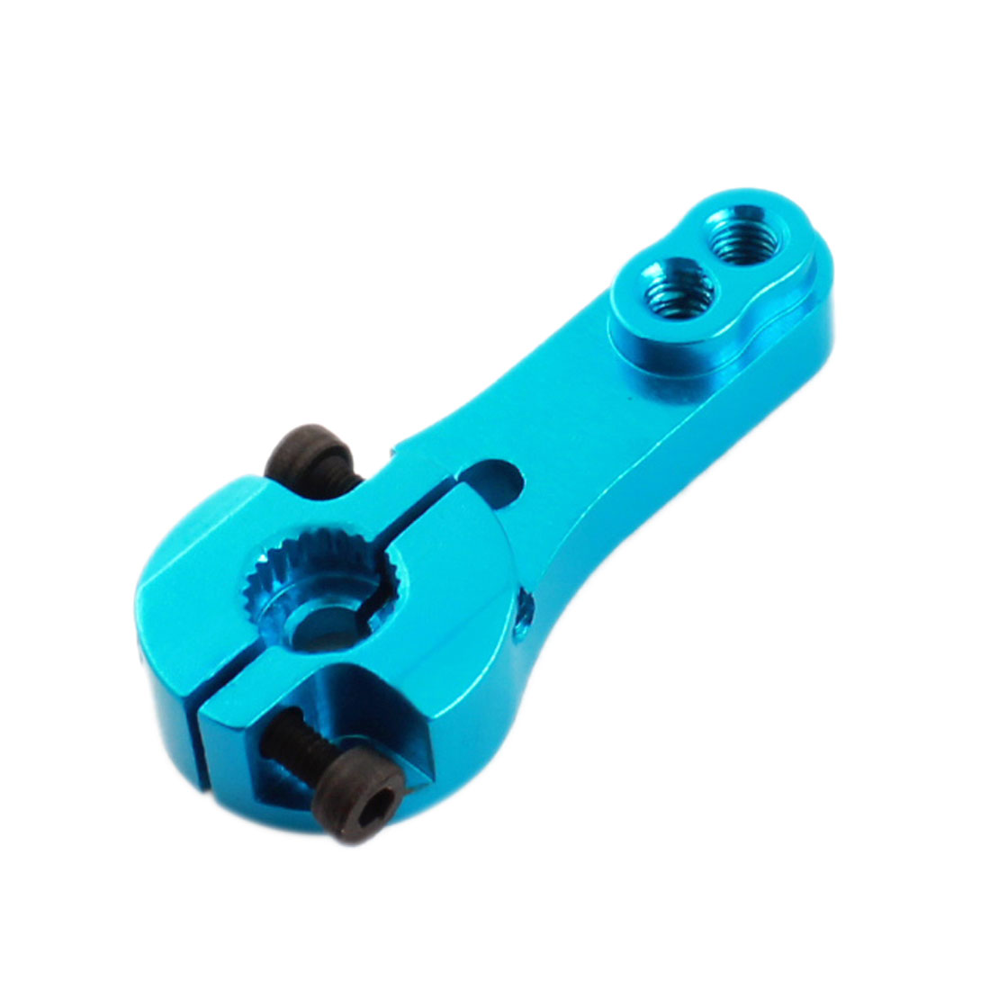 RC Model Airplane 25T MG995 S3003 Servo Horn Rocker Arm Half Size Blue