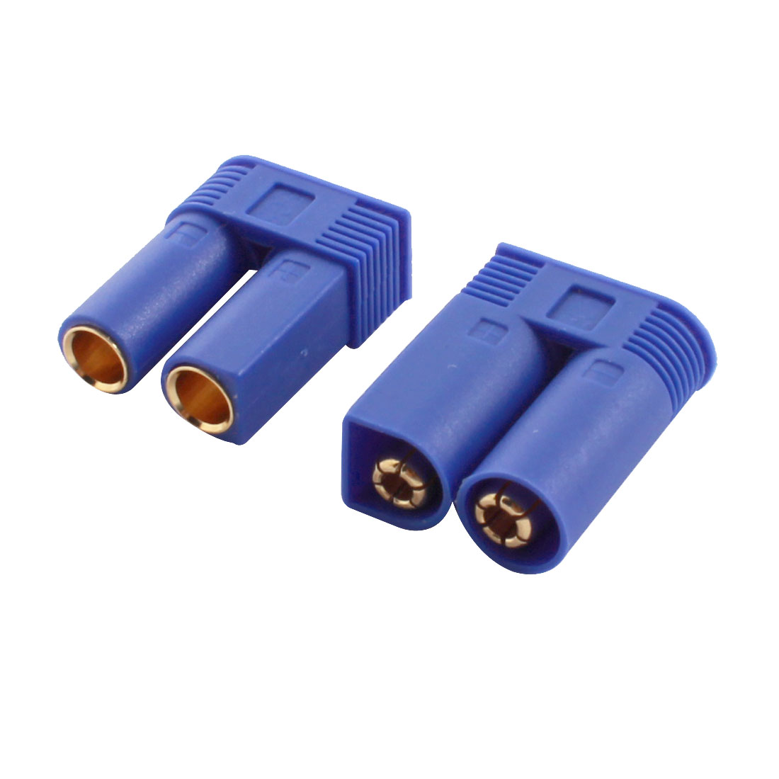 RC LiPo Battery Charge Adapter 100A EC5 5mm Male Female Connector Pair