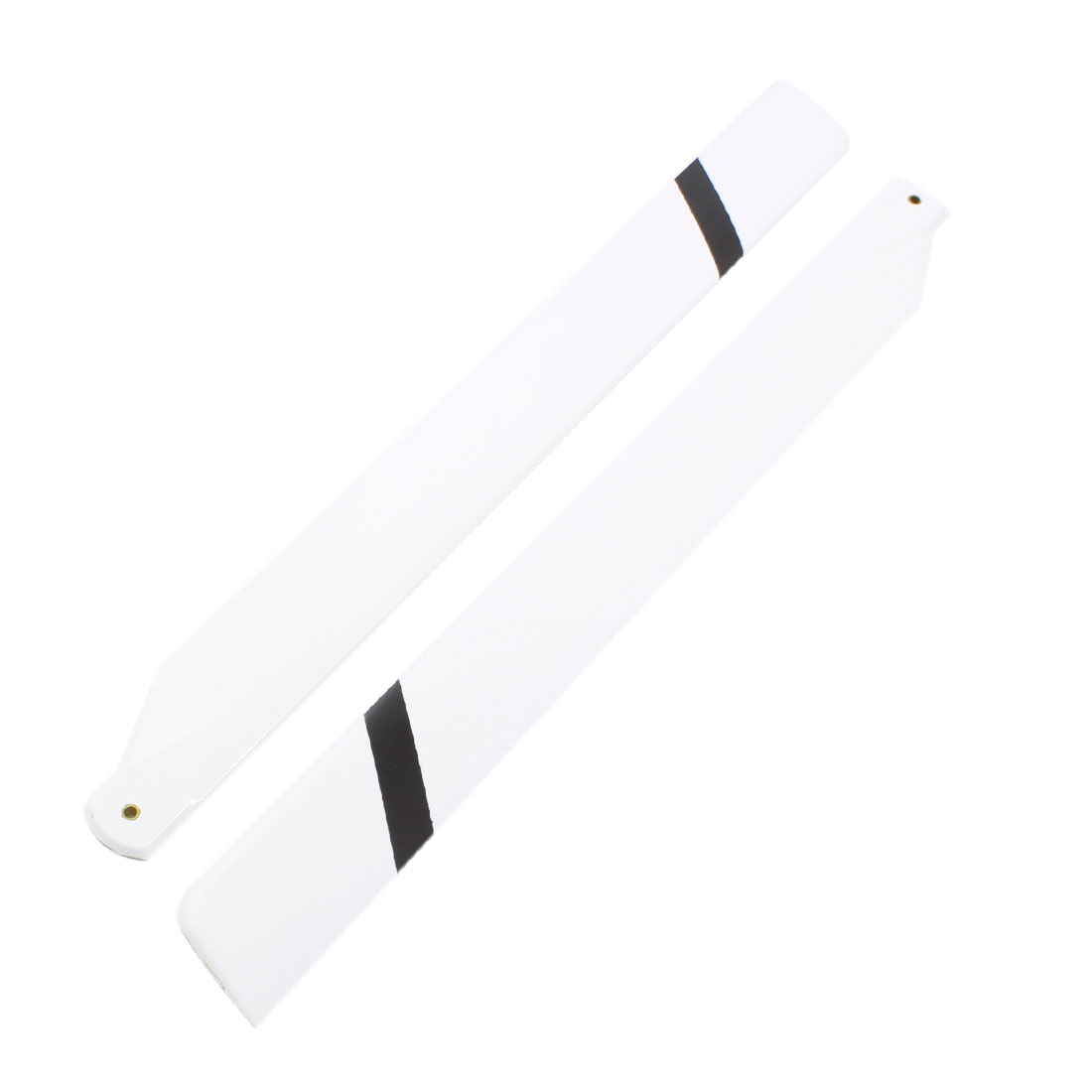 2pcs White 325mm Glass Fiber Main Rotor Vanes for Trex 450 Series RC Helicopter