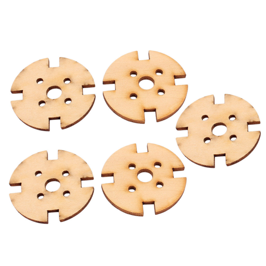 5pcs Round Wooden Mount 40mm for RC Model Airplane 2212 2208 Brushless Motor