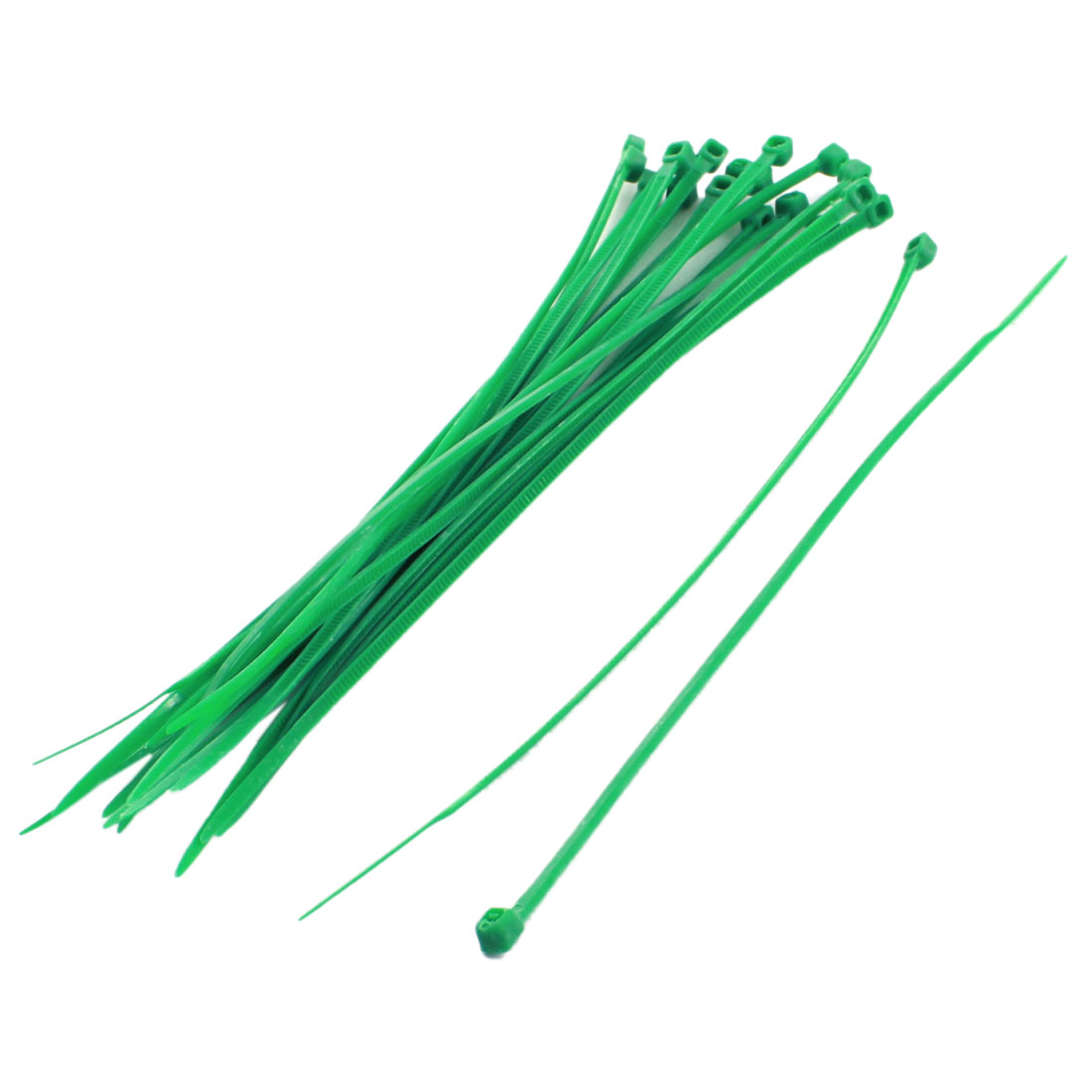 20Pcs 2mmx150mm Self Locking RC Helicopter Cable Ties Wire Strap Green