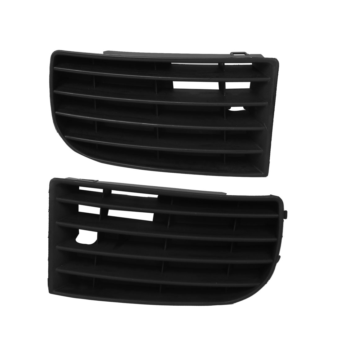 2 Pcs Front Lower Side Bumper Grille Set for VW VOLKSWAGEN GOLF 2003-2006
