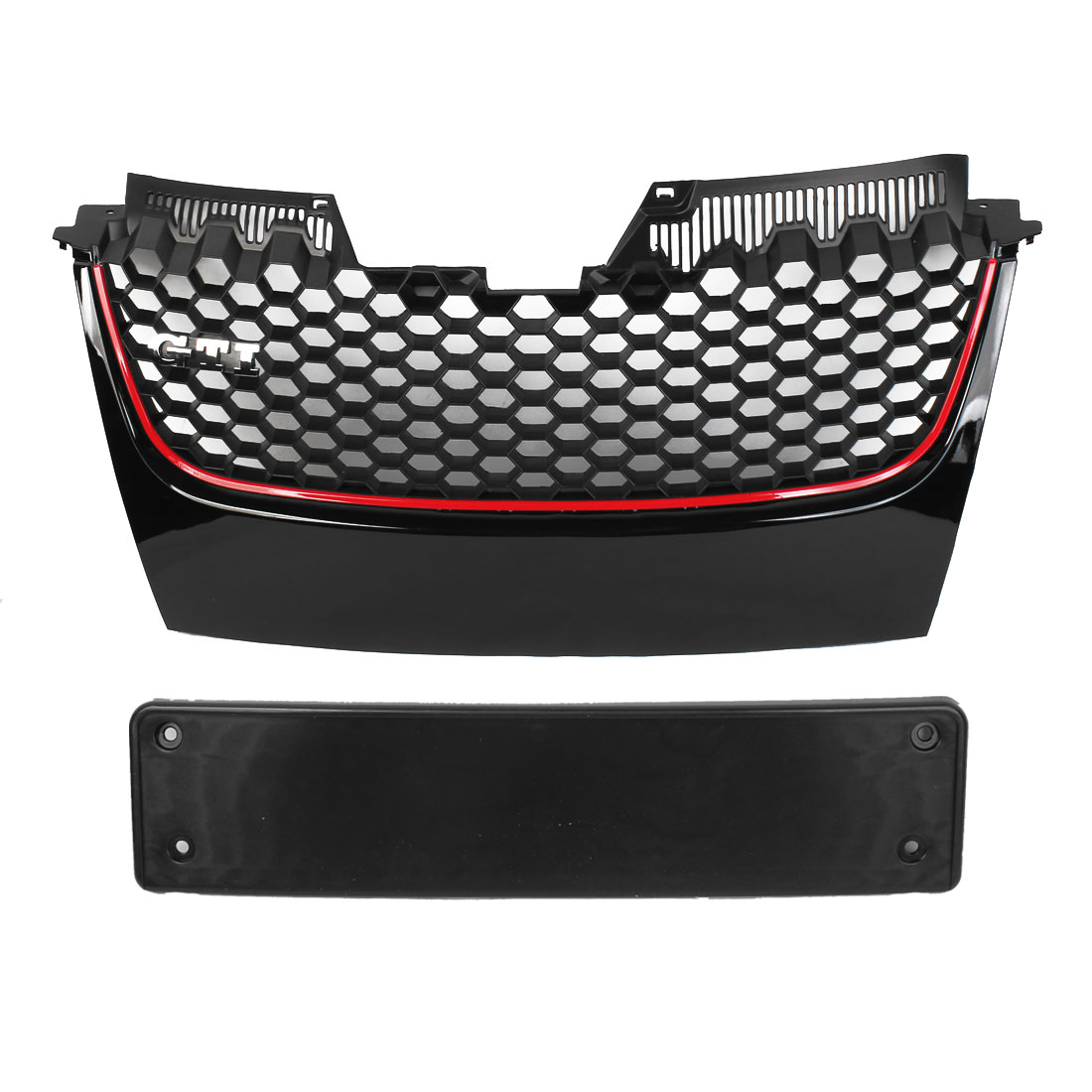 Bumper Plastic Badgeless Front Center Grille for 2006-2009 Jetta