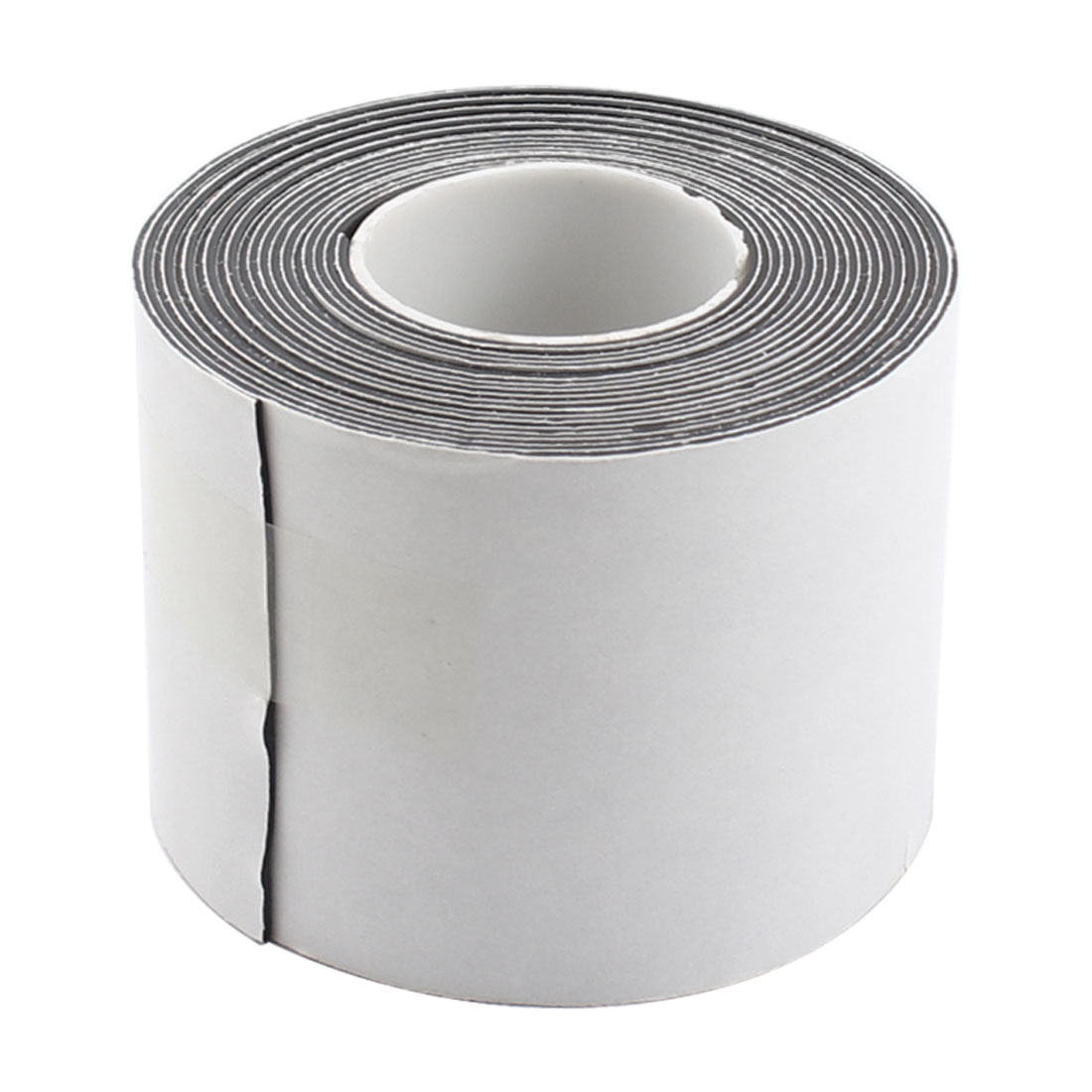 0.8mmx50mm 2.5 Meters PVC Electrical Wire Insulating Waterproof Tape Roll Black