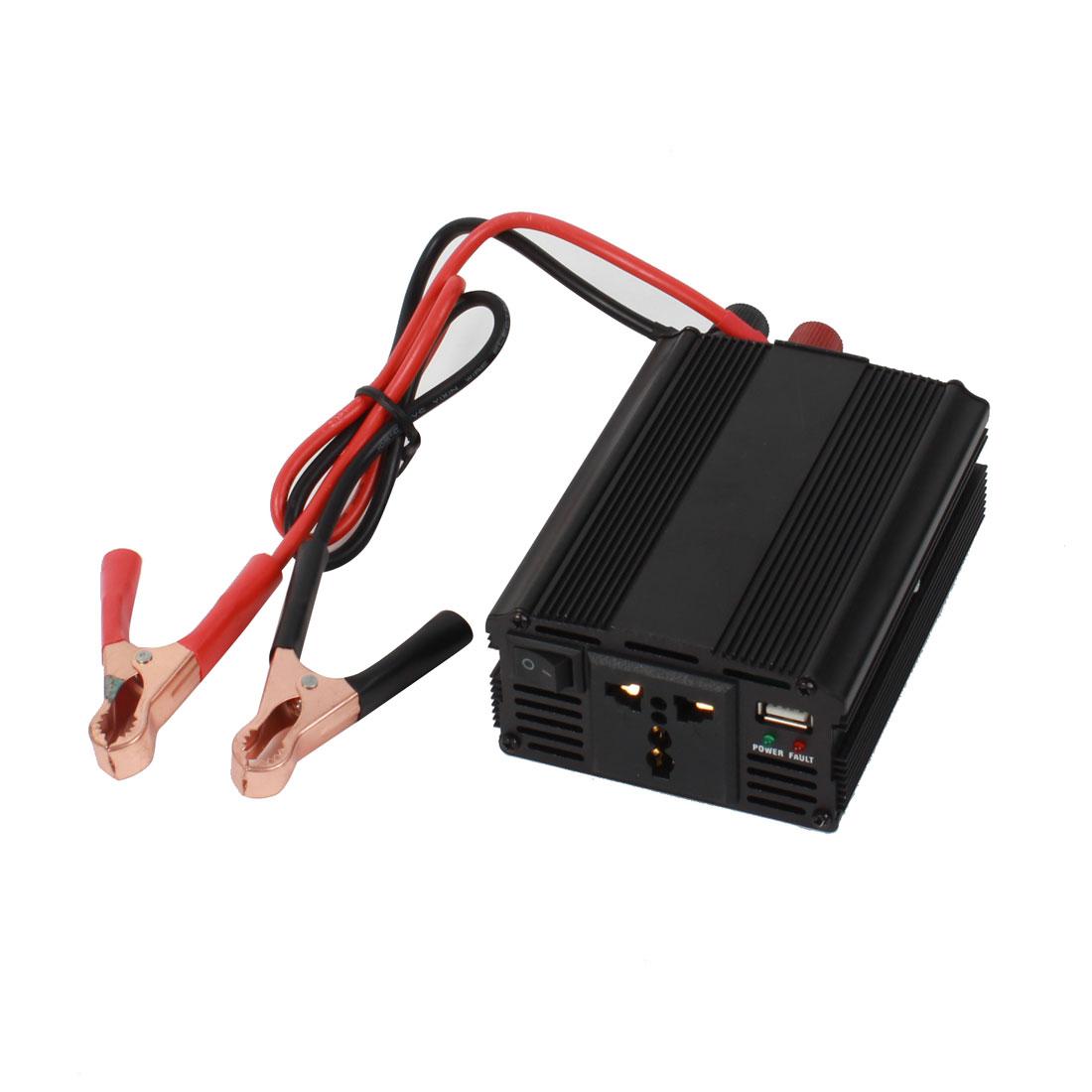 DC 12V/24V to AC 220V 500W DC/AC Voltage Power Converter Adapter Inverter