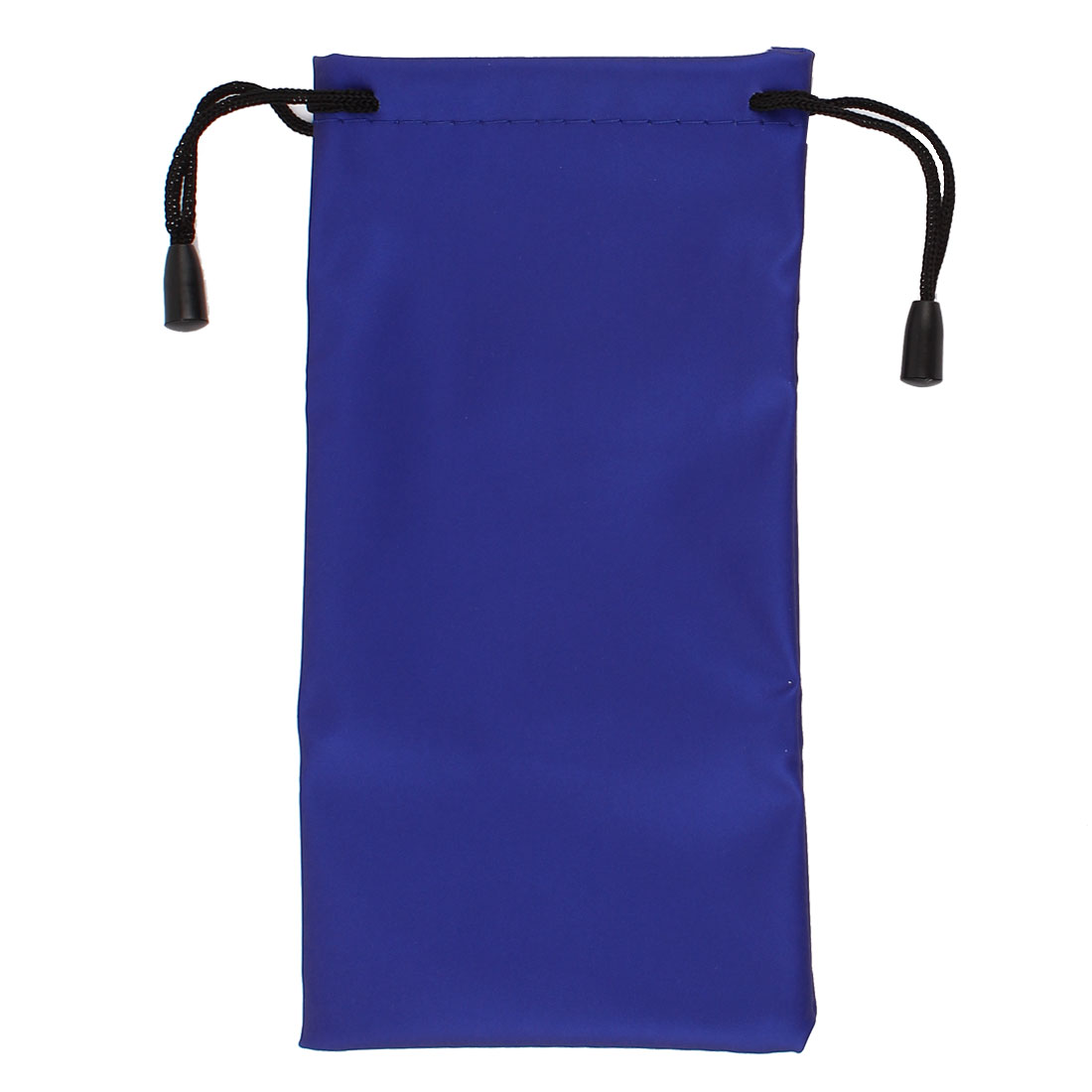 Traveling Cosmetic Storage Rectangular Drawstring Bags Blue 17 x 8.5cm