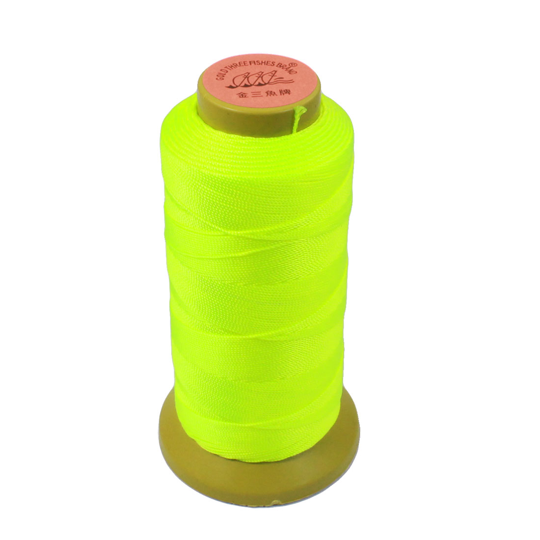 Tailor Hand Embroidery Yellow Green 9# Sewing Quilting Thread Spool Reel Roll