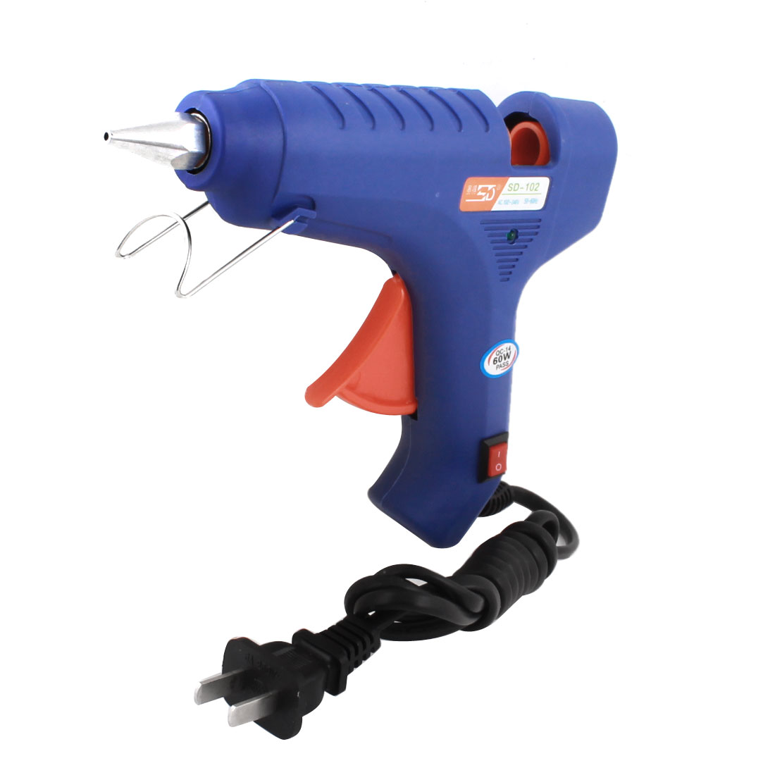 AC 100-240V US Plug Crafts Tool Triggered Hot Melt Glue Gun 60W SD-102