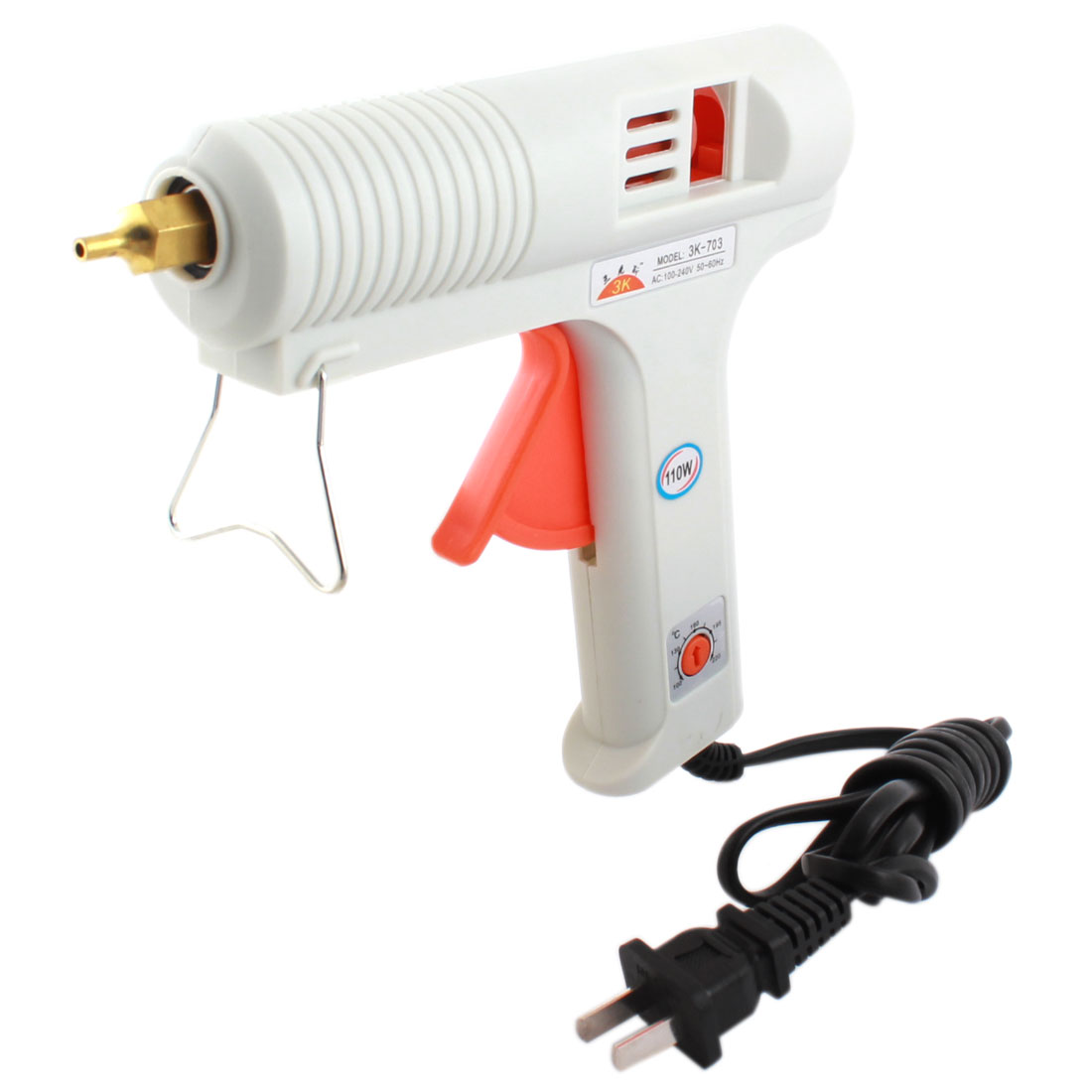 AC 100-240V US Plug 100C-200C Adjustable Hot Melt Glue Gun 110W 3K-701