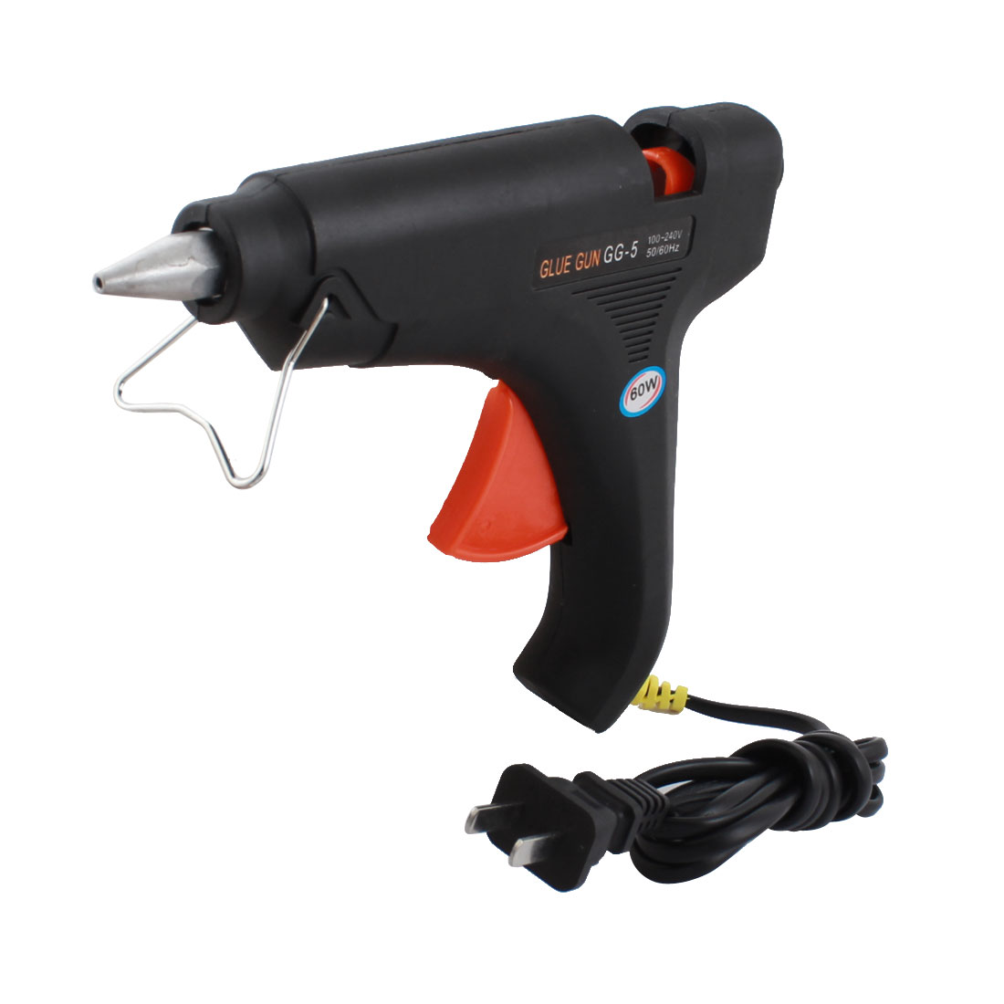 AC 100-240V US Plug 60W Triggered Electric Hot Melt Glue Gun GG-5