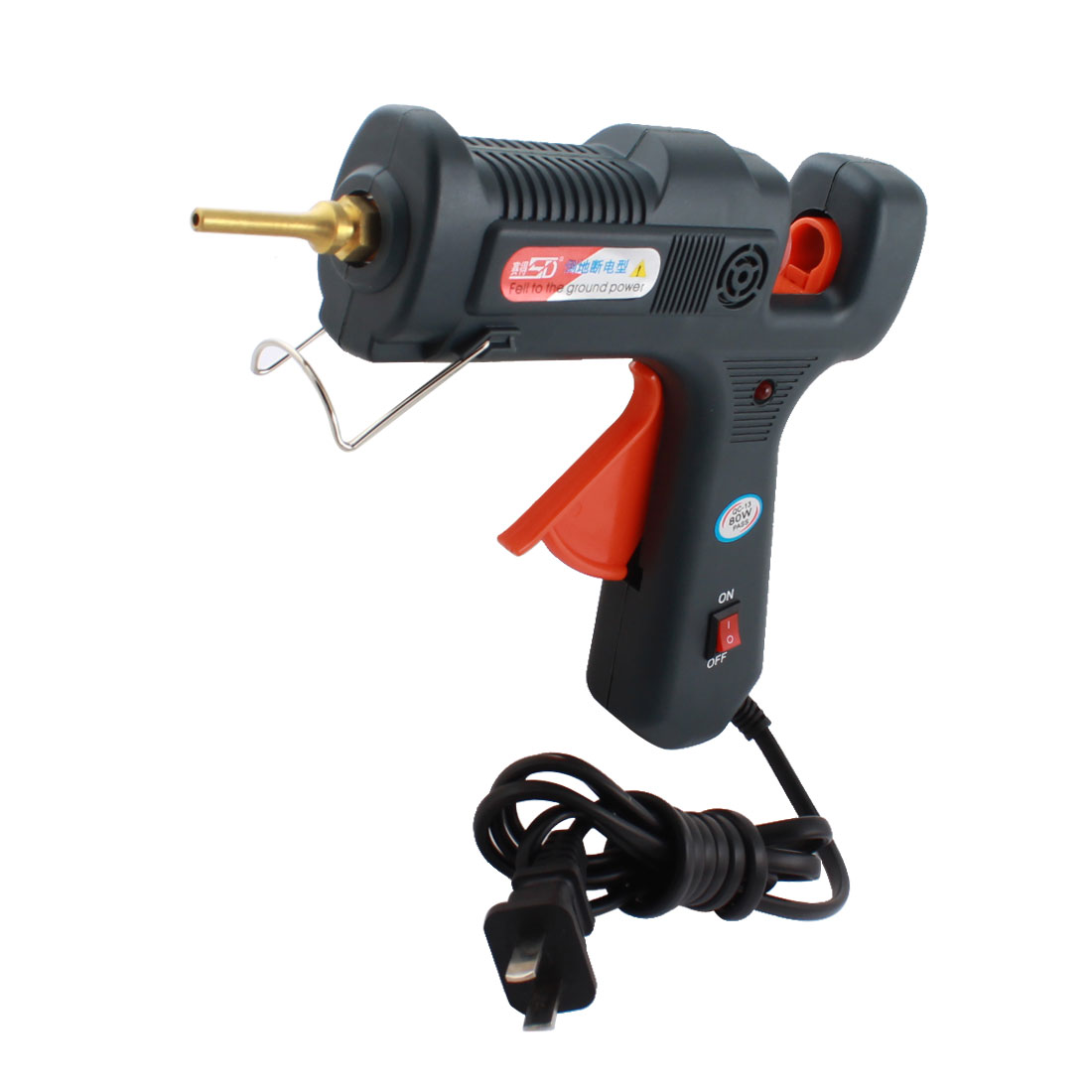 AC 100-240V US Plug 80W Triggered Electric Hot Melt Glue Gun SD-901