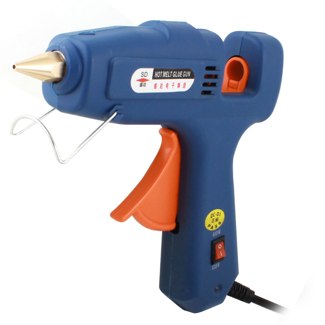 AC 110-240V US Plug Art Crafts Tool Triggered Hot Melt Glue Gun 60/100W SD-218