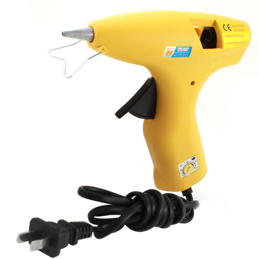 AC 110-240V US Plug 100C-200C Temperature Range Hot Melt Glue Gun 30W TK-807