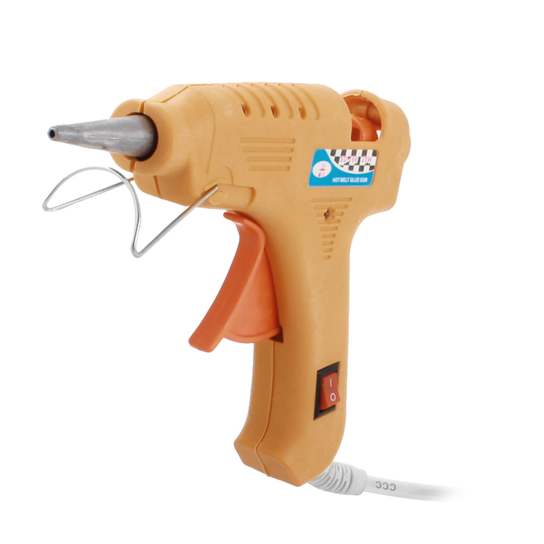AC 100-240V US Plug 20W 2mm Tapered Nozzle Hot Melt Glue Gun SD-166