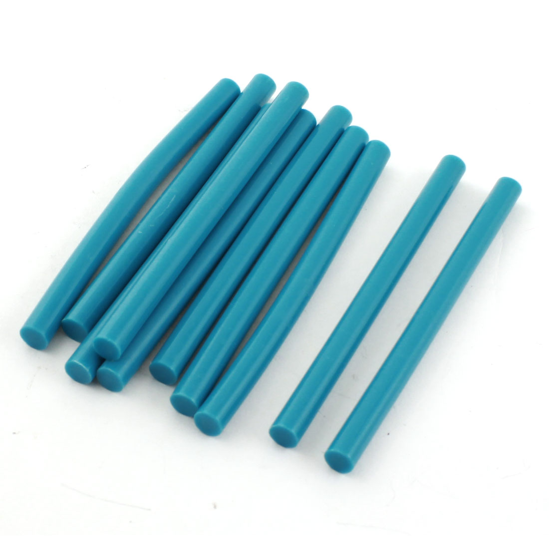 10 Pcs Turquoise Hot Melt Glue Gun Adhesive Sticks 7mm x 100mm