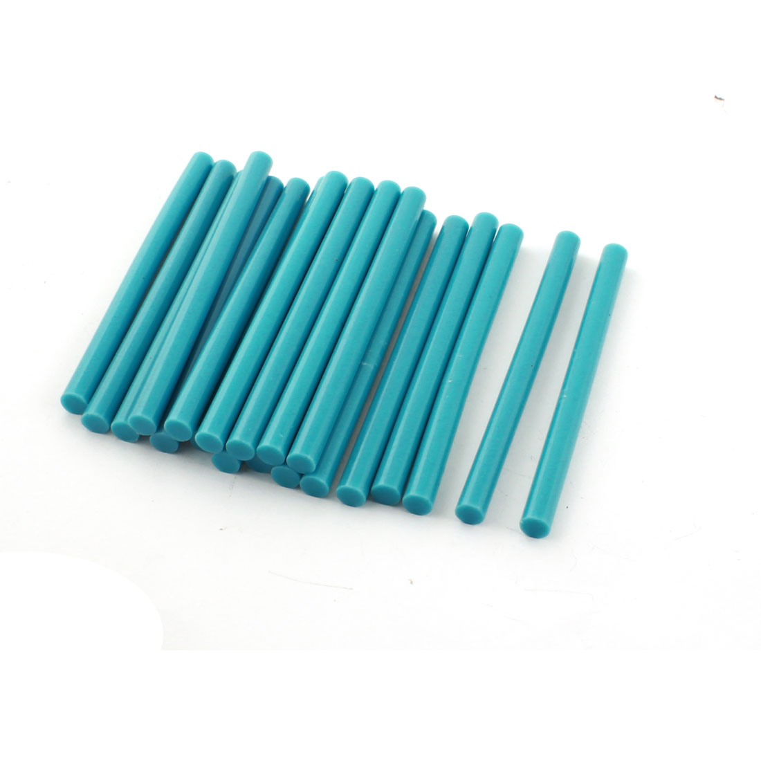 20 Pcs Teal Hot Melt Glue Gun Adhesive Sticks 7mm x 100mm