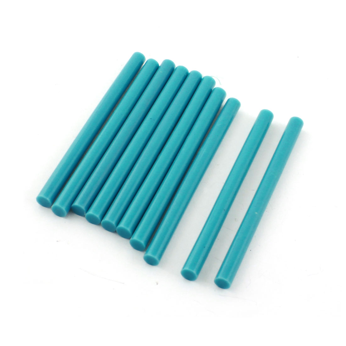 10 Pcs Teal Hot Melt Glue Gun Adhesive Sticks 7mm x 100mm
