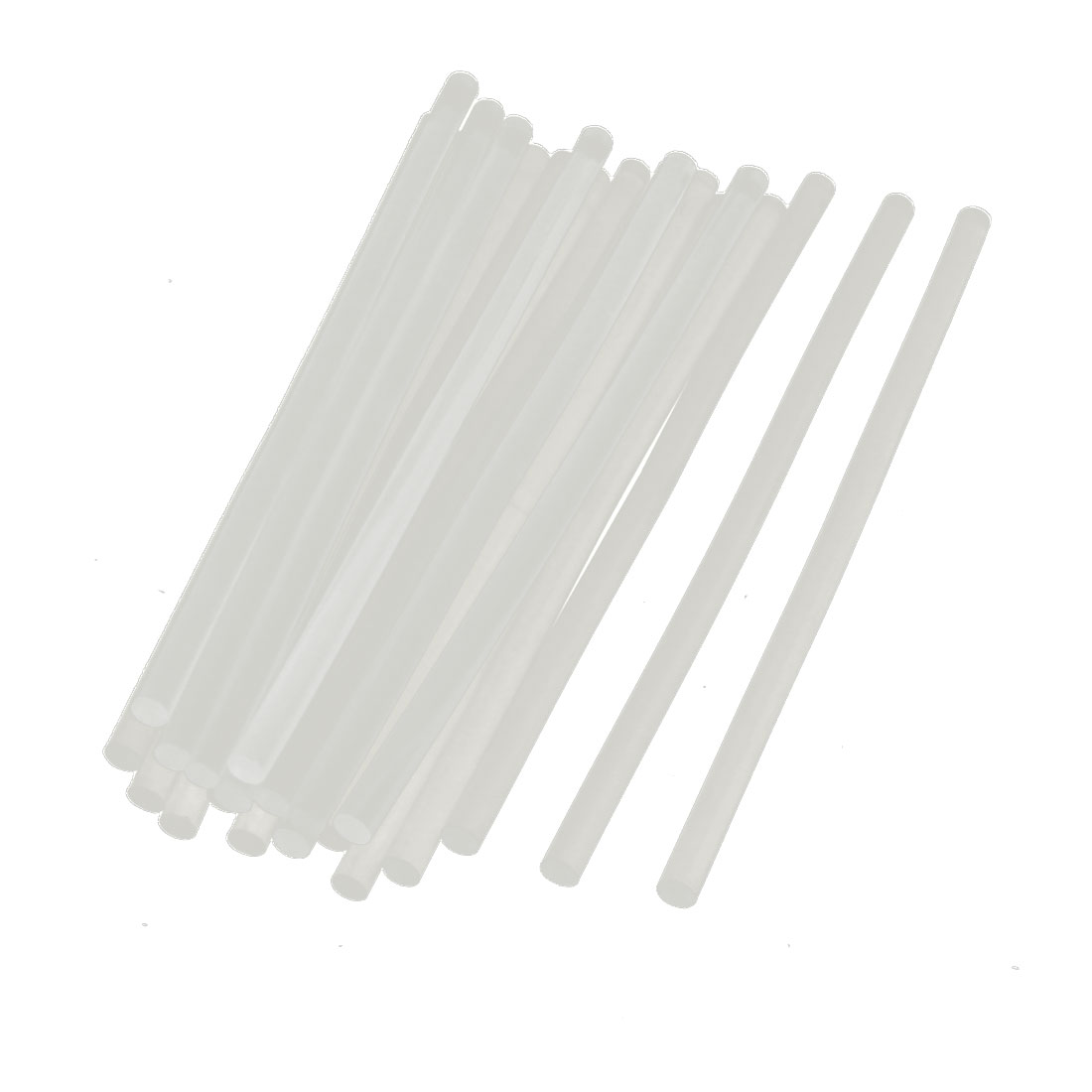 20pcs Clear Adhesive Hot Melt Glue Sticks 7x190mm for Electric Glue Gun