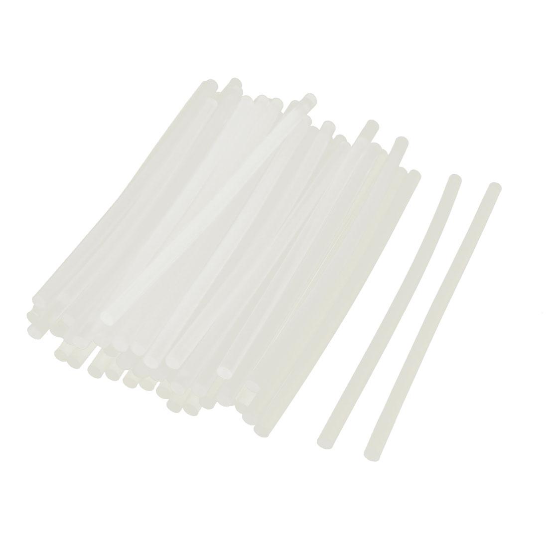 50pcs Clear Hobby Craft Adhesive Hot Melt Glue Gun Sticks 7mm x 190mm