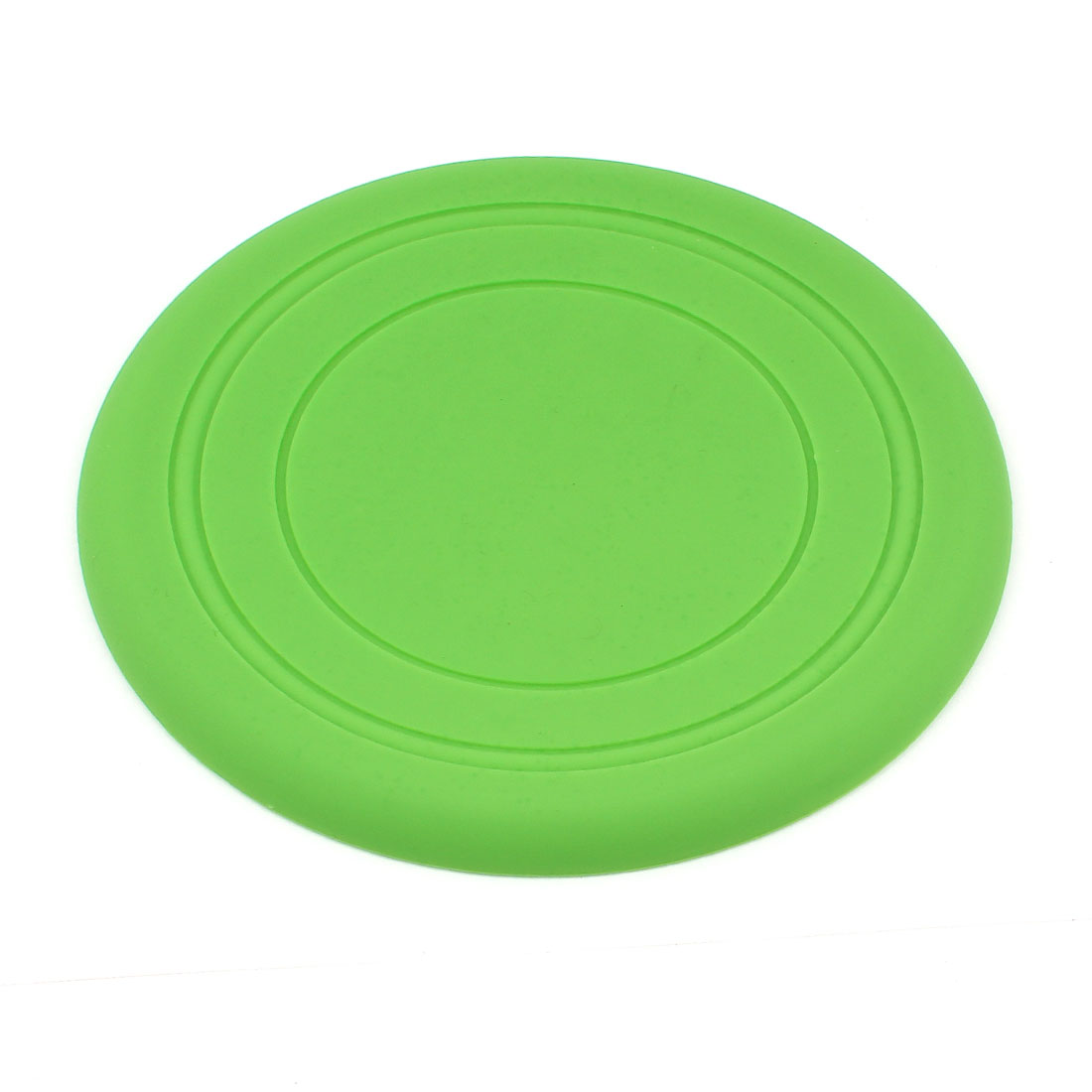 Pet Dog Tooth Resistant Outdoor Training Frisbee Flying Disc Fetch Toy Green