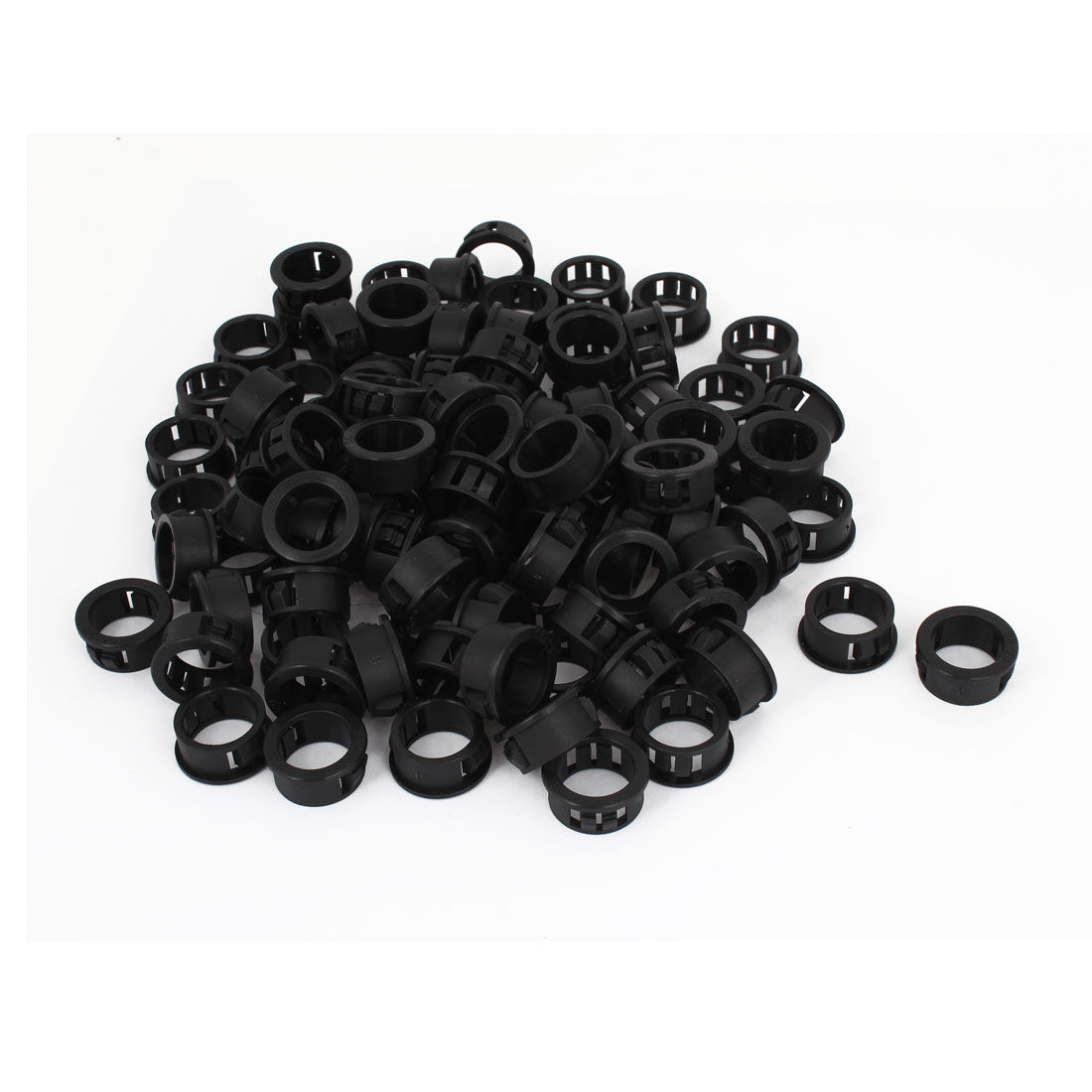 200 Pcs SKT-20 Snap in Mounting Locking Hole Button Cover 20mm x 22mm x 10mm