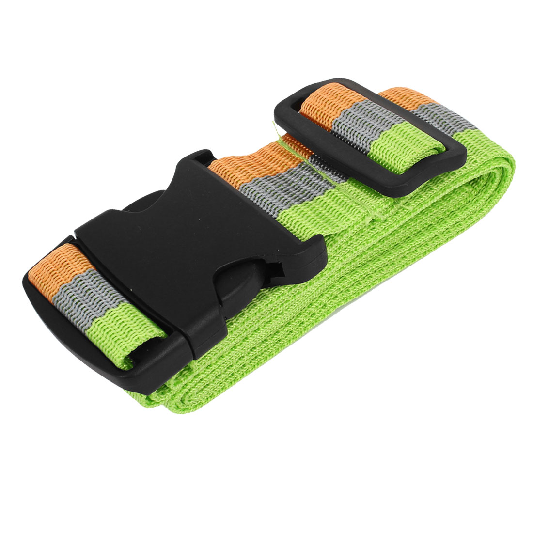 "Outdoor Travel Release Buckle Adjustable Stripe Pattern Package Packing Belt Strape 1.9"" Width"