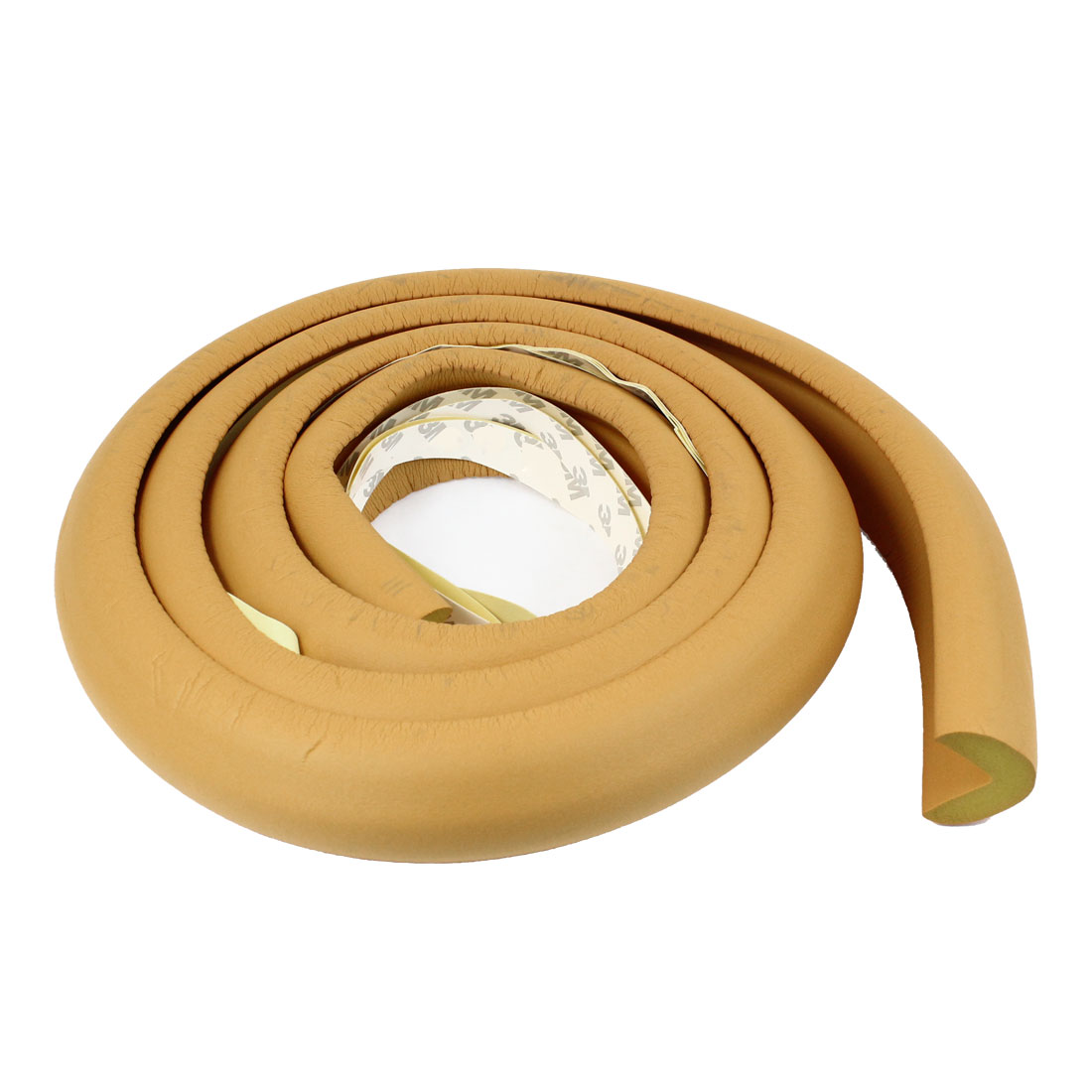 Furniture Desk Table Edge Rim Corner Cushion Strip Pad Mat Cover Protector Yellow 2M