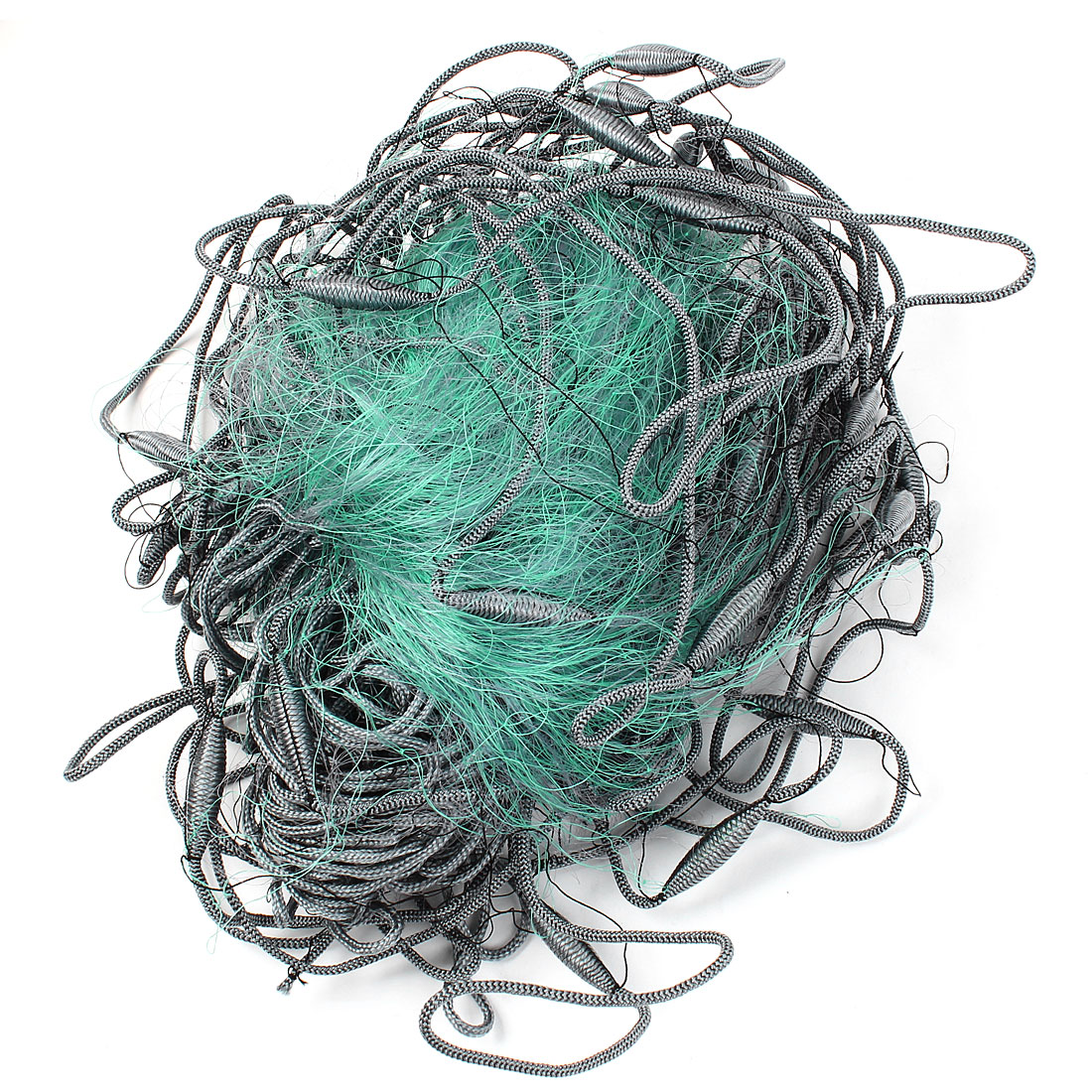 Gillnetting 3 Layers 6 x 6cm Mesh 30m x 1.3M Green Fishing Gill Net