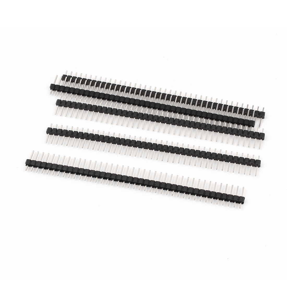 1x40 Pin 2.54mm Pitch Straight Single Row PCB Pin Headers 5 Pieces