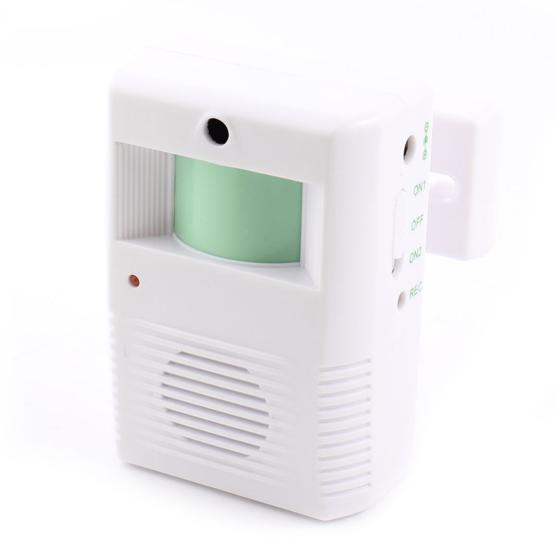 White Plastic Light Control Electronic Welcome Guest Saluting Doorbell Chime