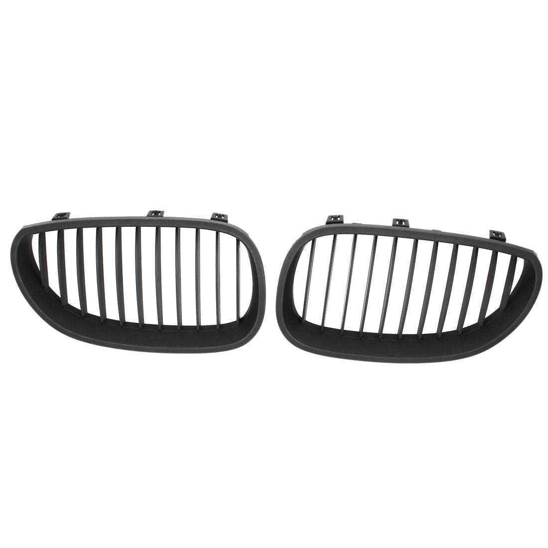 Pair Front Black Wide Decor Kidney Grille Grill for BMW E60 330I 325I 3 Series