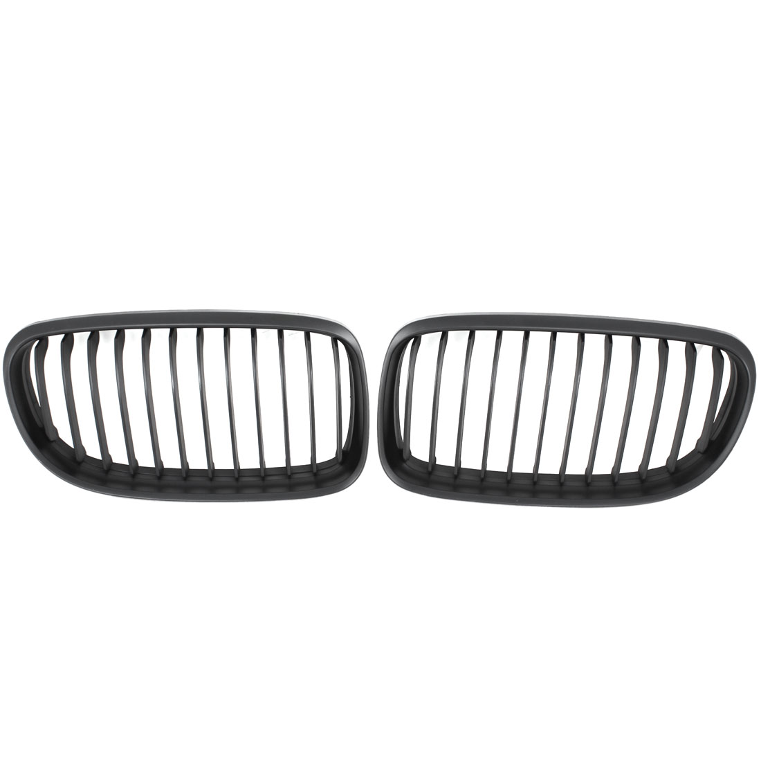 Pair Black Car Coupe Convertible Matte Kidney Grille for BMW 3 Series 335i 328i