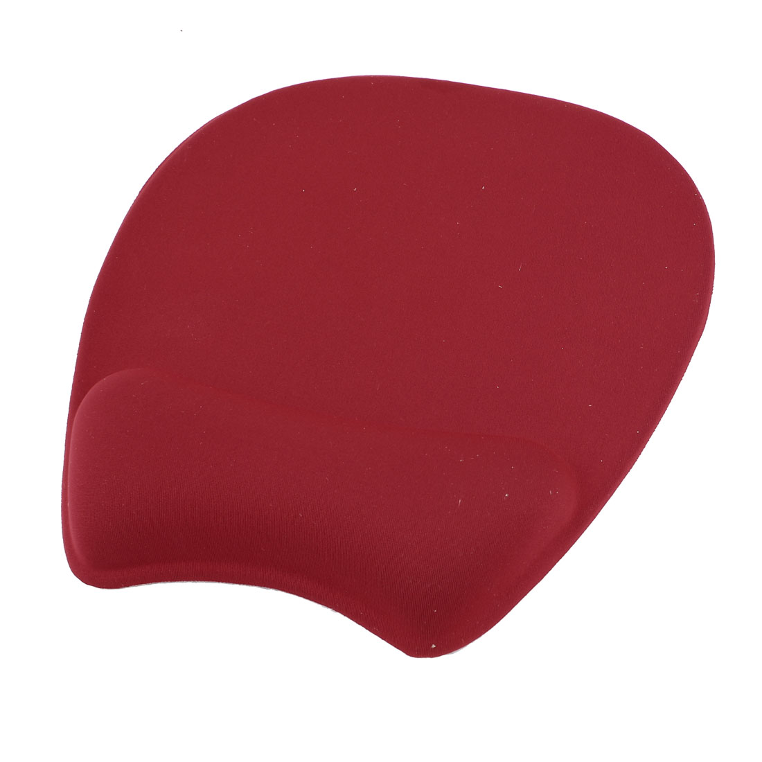Red Silicone Gel Wrist Rest Nonslip Mouse Pad Mat for Laptop Desktop
