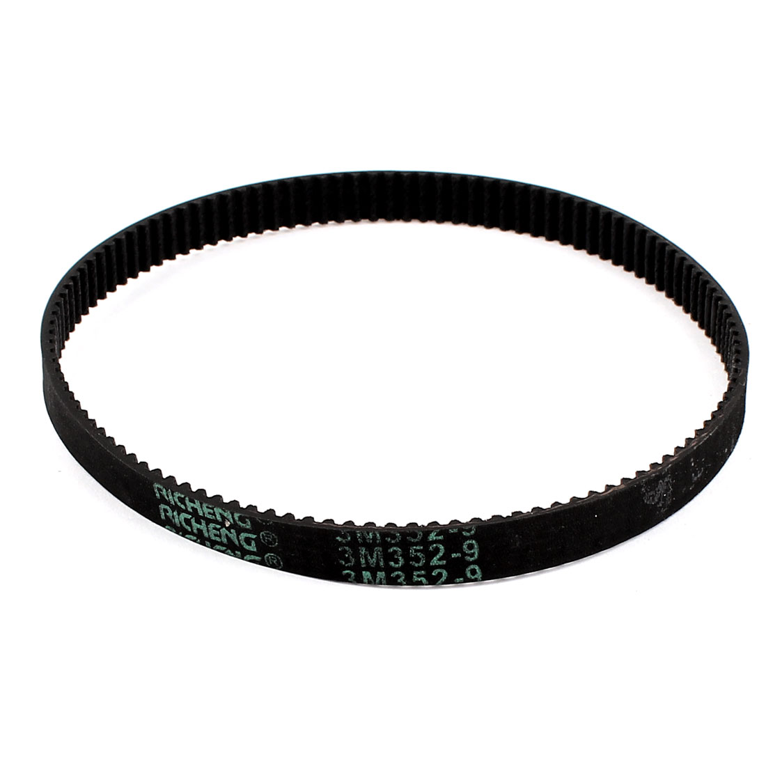 CNC 352mm Pitch Length 117 Teeth 9mm Width Industrial Timing Belt 3M-352-9