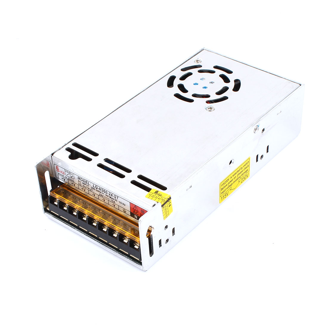 AC 200-240V to DC 24V 15A Switch Power Supply Driver Converter Transformer for LED Striplight Display