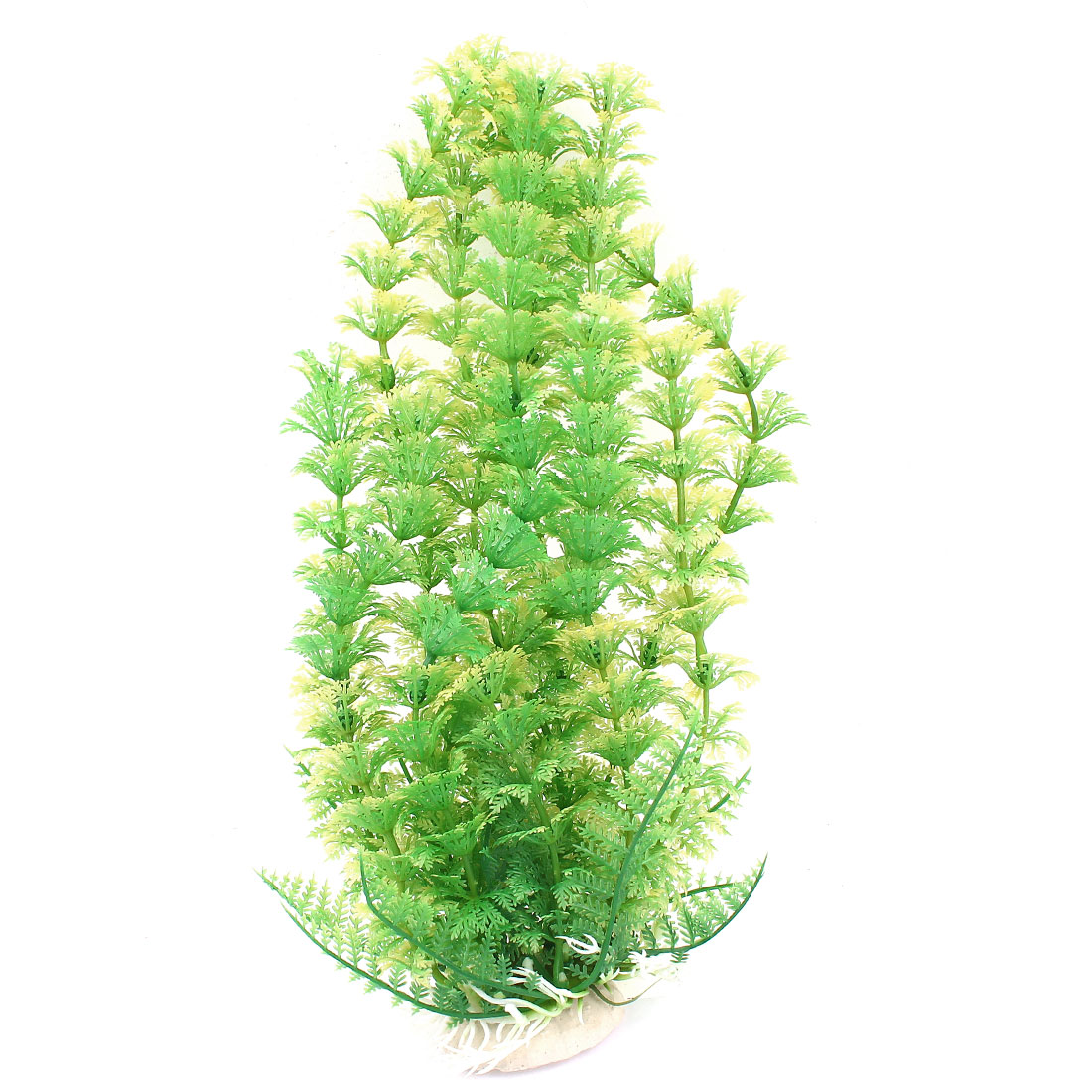 "12"" Height Green Aquarium Ornament Plastic Emulation Underwater Grass Plants"