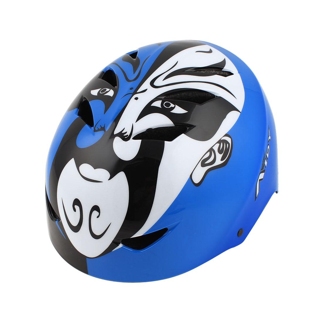 Unisex EPS BMX Bike Bicycle Scooter Roller Skating Ski Racing Helmet Blue