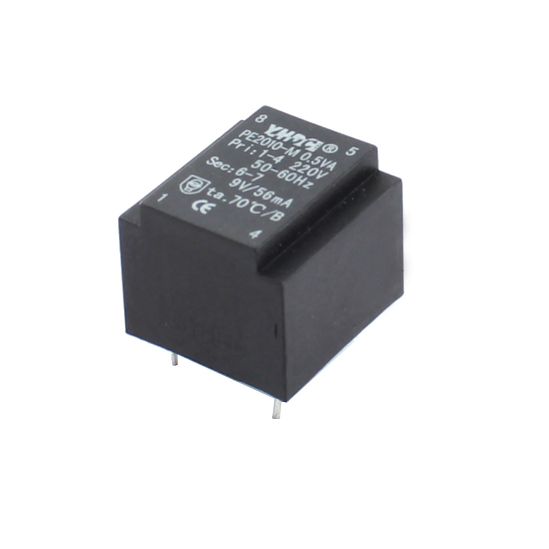 PE2010-M Primary Work Voltage AC220V 0.5VA Single Way Output Miniature Power Encapsulated transformer