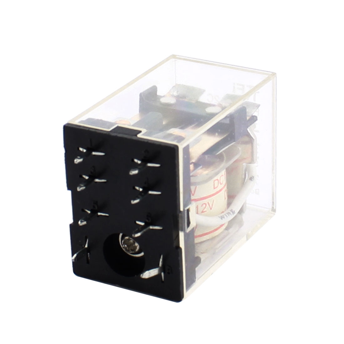 DC12V Coil Voltage 8Pin Double Pole Double Throw General Purpose Electromagnetic Power Relay