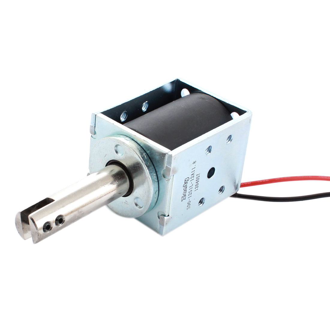 DC 12V 1.01A 12.2W 10mm 600g Open Frame Linear Motion Pull Type Solenoid Electromagnet Actuator